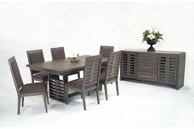 essex 8 piece dining set with server bob u0027s discount furniture