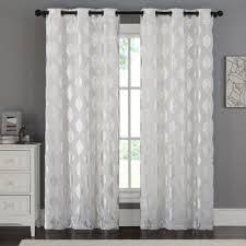 Sheer Curtains Grommet Top Buy 84