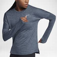 nike 885252 471 women u0027s long sleeve running top nike therma sphere