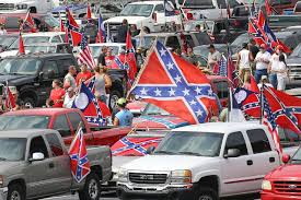 Giant Confederate Flag Confederate Flag Supporters Rally In Georgia Wsj