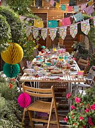 talking tables fiest summer party paper banners a glorious way