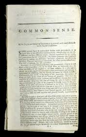 thomas paine common sense reading revolutions