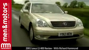 lexus ls400 vs audi a8 2001 lexus ls 400 review with richard hammond youtube