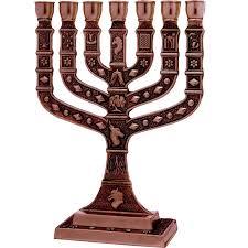 knesset menorah 12 tribes knesset menorah jerusalem copper holy land christian