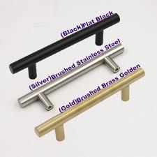 Stainless Steel Kitchen Cabinet Pulls Online Get Cheap 4 Inch Kitchen Cabinet Pulls Aliexpress Com