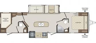 Bunkhouse Trailer Floor Plans Rvs And Travel Trailers For Sale At Paul Sherry Rvs In Ohio