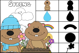 groundhog free printables coloring pages