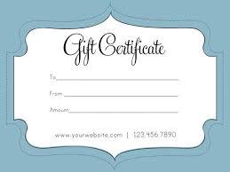 business gift certificate template 37 best gift certificate ideas