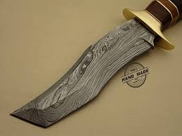 damascus tanto knife custom handmade damascus steel hunting knife