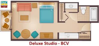 Bay Lake Tower One Bedroom Villa Floor Plan Disney U0027s Beach Club Villas Dvcinfo Com