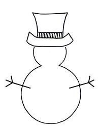 coloring pages snowman pictures color melting snowman