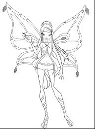 coloring pages winx mermaid coloring pages children winx