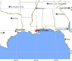 houston louisiana map new orleans louisiana la profile population maps real estate