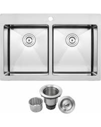 Ticor Kitchen Sinks Check Out These Deals On Ticor Stainless Steel Silver 33