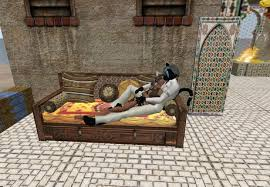 second life marketplace moroccan sofa