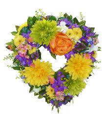 graveside flowers graveside 12 everlasting heart wreath sd107 100 00 send