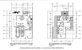 Floor Plan For 2 Storey House 15 2 Storey House Design And Floor Plan Philippines 3 Plans