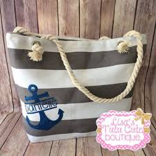 nautical gift bags shop personalized bridesmaid bags on wanelo