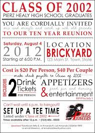 65 best high school reunion invites images on class