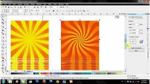 membuat garis 3d di photoshop video tutorial corel x4 membuat background art matahari flv youtube