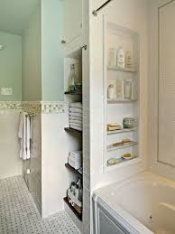 bathroom built in storage ideas bathroom showers with storage niches also like the tile around