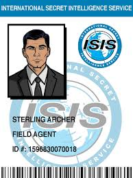 Sterling Archer Meme - isis badge sterling archer by pinkfizzypops on deviantart