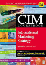 cim strategic marketing plan example financial and managerial