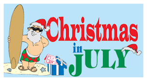 christmas in july christmas in july gift certificate special june 24 thru july 31