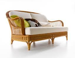 sofa rattan traditional sofa rattan 2 seater white arpa bonacina