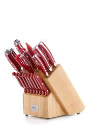 remy olivier think kitchen julia 19 piece knife and woodblock