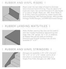 Abrasive Stair Nosing by Vinyl Tread U2013 Roppe