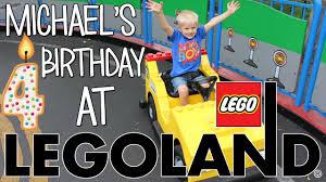 michael u0027s 4th birthday party at legoland youtube