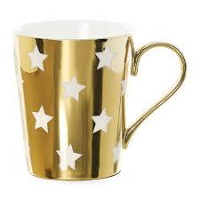 buy miss étoile stars coffee mug gold amara
