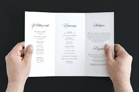 wedding fan program template template wedding fan programs template