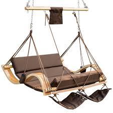 patio garden outdoor deluxe oversized double hanging hammock