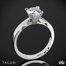 engagement sets tacori simply tacori flat edge solitaire engagement ring 2551