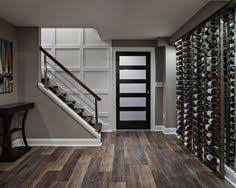 Basement Stairs Design Opening Downstairs Entry By Cutting Away Wall And Adding Trim To