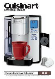 Keurig K Cup Coffee Maker Manual