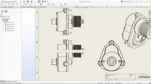 solidworks 2017 u2013 making your drawings look nicer u2013 drawing views