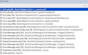 zend framework 2 override layout validation zendframework 3 overwrite csrf validator stack overflow
