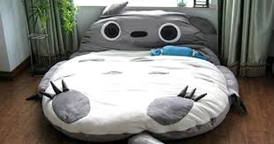 Huge Pillow Bed Giant Totoro Bed Shut Up And Take My Yen