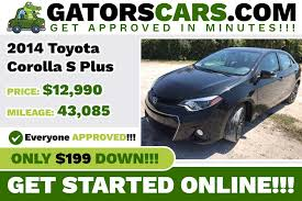 2014 toyota corolla s plus price 2014 toyota corolla s plus gators cars used vehicles in florida
