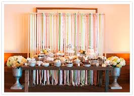 streamer backdrop backdrops ribbon streamer dessert table backdrop 2046791 weddbook