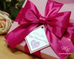 big present bow pink gift boxes etsy