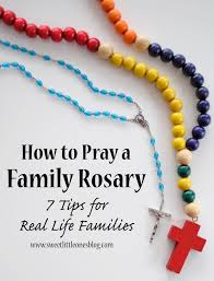 rosary for kids sweet ones how to pray a family rosary 7 tips for real