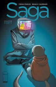 saga volume 7 saga 40 releases image comics