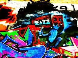 computer graffiti pfeiffer artwork graffiti wall razz philly original