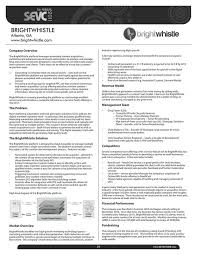 sample executive summary template information technology resume