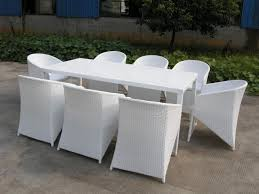 White Wicker Outdoor Patio Furniture Wicker Furniture White Designs Ideas And Decors How To Repair