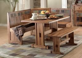 Corner Bench Seat With Storage Backsplash Kitchen Tables With Bench Chair Big Small Dining Room